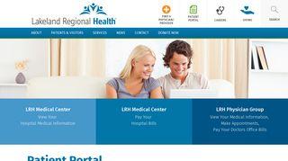 Www Mylrh Org Patient Portal