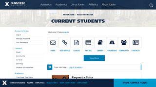 Xavier University Student Portal