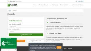 Yaeger Cpa Student Portal