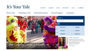 Yale Staff Portal