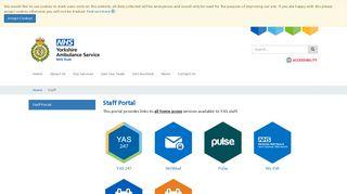 Yas Staff Portal