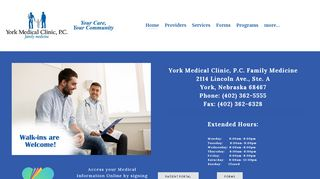 York Medical Clinic Patient Portal