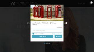 Yunique Medical Patient Portal