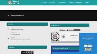 Zainab Center Portal