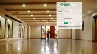 Ziauddin University Student Portal