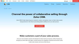 Zoho Vendor Portal