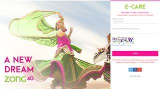 Zong Online Portal
