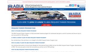Abia Parking Login