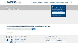 Access Bank Login