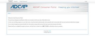 Adcap Portal