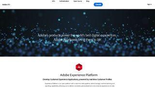 Adobe Developer Portal