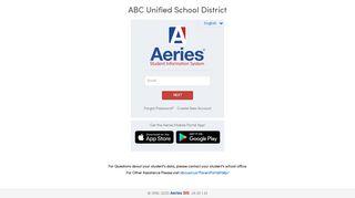 Aeries Portal Abc