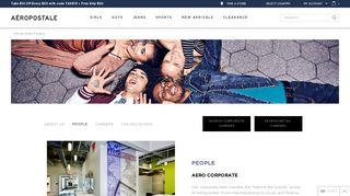 Aeropostale Benefits Portal