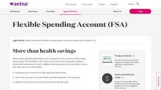 Aetna Flex Spending Login
