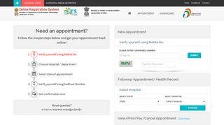 Aiims Registration Portal