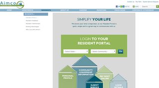 Aimco Resident Portal