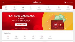 Airtel Money Load Cash Login