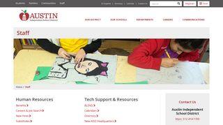 Aisd Staff Portal