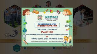 Allenhouse Public School Khalasi Line Kanpur E Care Login