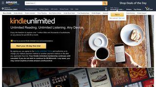 Amazon Books Sign Up