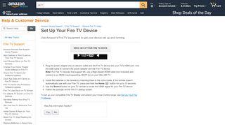 Amazon Fire Stick Captive Portal