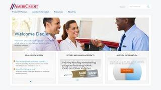 Americredit Dealer Portal