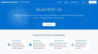 Amex Developer Portal