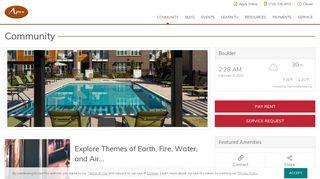 Apex 5510 Resident Portal
