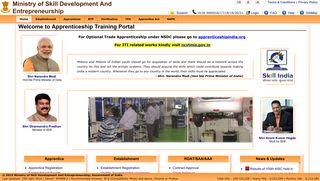 Apprentice Registration Portal