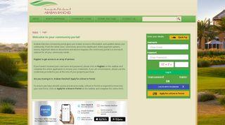 Arabian Ranches Community Portal