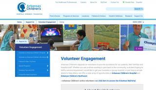 Arkansas Children's Hospital Volunteer Portal