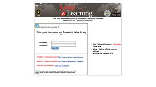 Army E Learning Portal