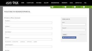 Aspen Park Apartments Resident Portal