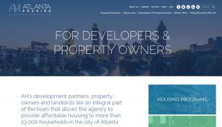 Atlanta Housing Authority Landlord Portal