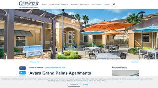 Avana Grand Palms Resident Portal