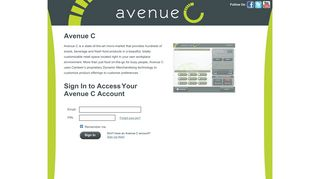 Avenue C Kiosk Account Login