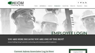 Axiom Payroll Login