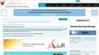 Bahrain Open Data Portal