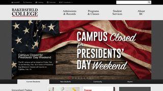 Bakersfield College Portal