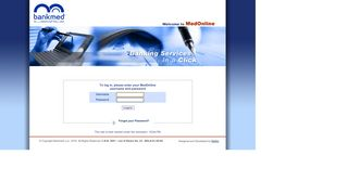 Bankmed Online Login