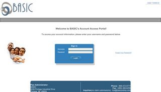 Basic Benefits Portal
