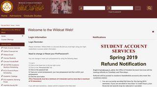 Bcu Web Portal