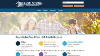 Benefit Advantage Consumer Portal