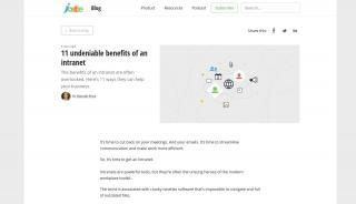 Benefits Of Intranet Portal