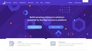 Bigcommerce Developer Portal