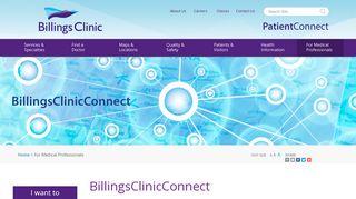 Billings Clinic Email Login