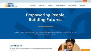 Birch Family Services Portal