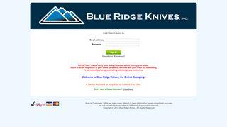 Blueridgeknives Com Login