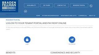 Braden Fellman Resident Portal