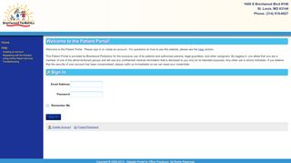 Brentwood Pediatrics Portal